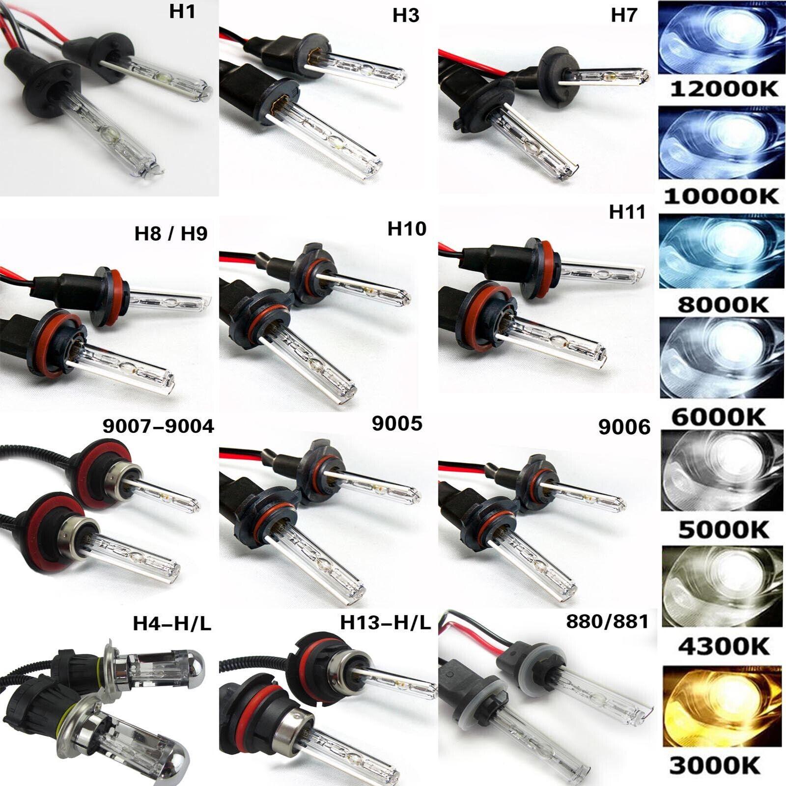 HID Xenon Headlight Conversion KIT Bulbs H1 H3 H4 H7 9005 H11 880//881 For Ford