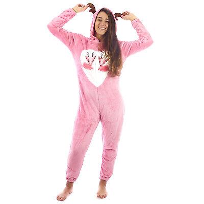 Pigiama donna tuta intero KIGURUMI animalier overall costume feste 0DIPIG068