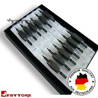 20x 7rl 7er Round Liner Disposable Tattoo Points Handles End-pipes Needles Med - fact gate - ebay.co.uk