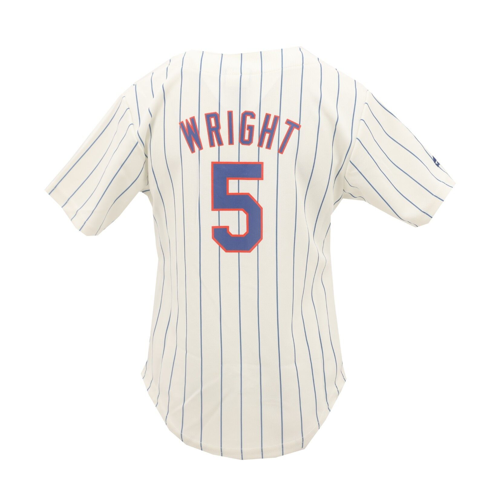 5d8b9469aa2 New York Mets Genuine MLB Majestic Kids Youth Girls Size David Wright Jersey  New