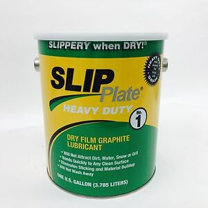 SLIP PLATE 33015  1 GALLON GRAPHITE DRY FILM LUBRICANT