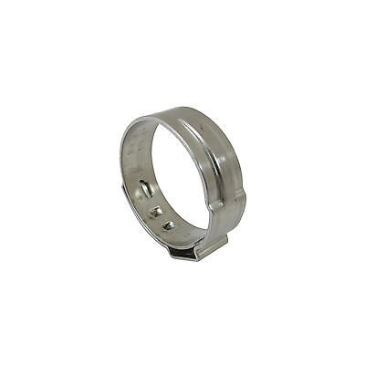 25 1 Pex Stainless Steel Cinch Pinch Clamps Rings