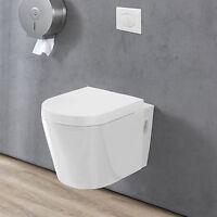 Casa] Ceramica Attaccatura A Parete Wc+cisterna Bianco Meccanismo Di Chiusura -  - ebay.it