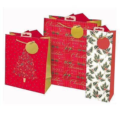 Pack de 50/Eco toy-ribbon blanco pl/ástico bolsas Navidad sorpresa 40/x 50
