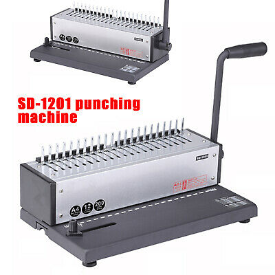 Sd-1201 Steel Metal Spiral Coil 21holes Punching Binding Machine Manual