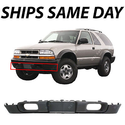 02 Blazer Front Bumper (NEW Front Bumper Deflector Lower Valance for 1998-2005 Chevy S10 & Blazer W/)