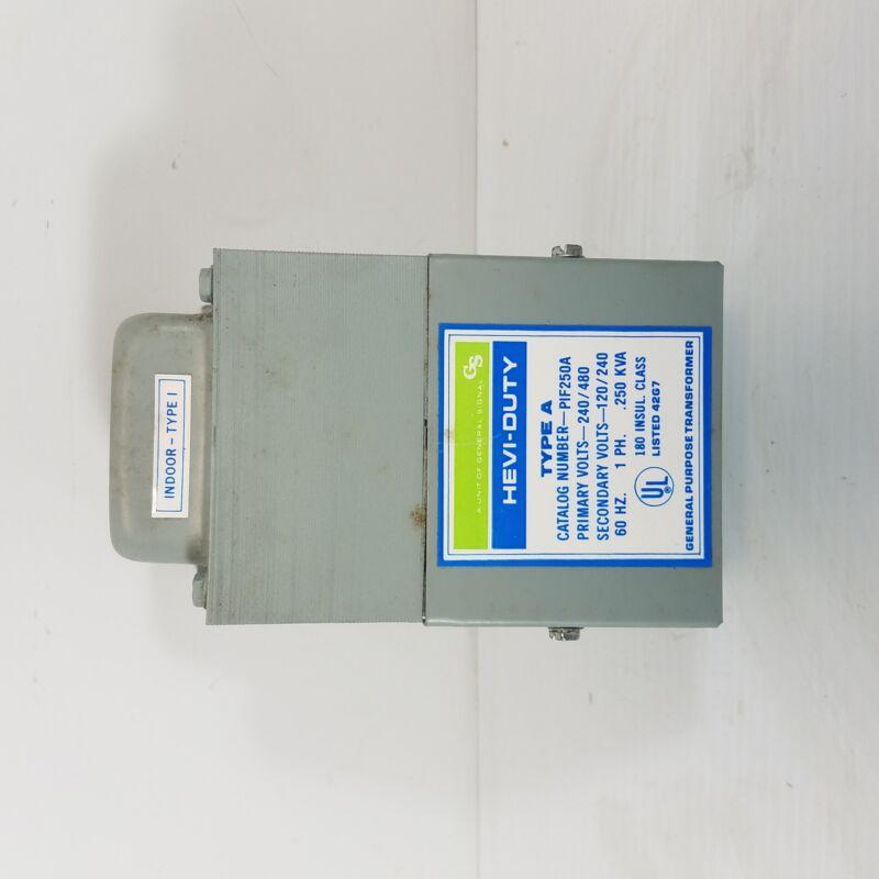 General Signal Hevi-Duty Type A PIF250A General Purpose Transformer