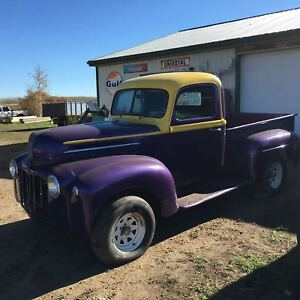 1947 ford 1/2 ton shortbox