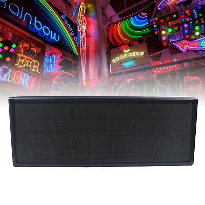 38x12 P5 Rgb Full Color Led Sign Programmable Scrolling Message Display Light