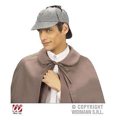 Detektiv Sherlock Holmes Deerstalker Mütze Kostümzubehör Hut Fasching - Sherlock Holmes Kostüm