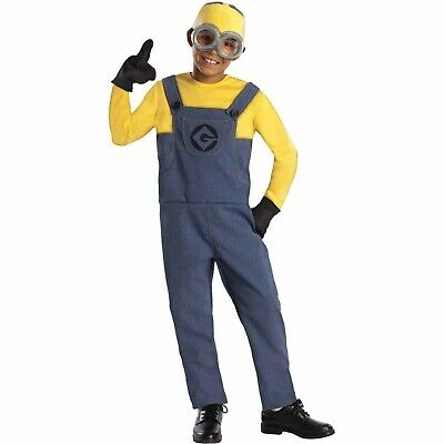 Despicable Me 2 Minion Dave Child Costume HALLOWEEN Boys Outfit Medium (8-10) - Minions Halloween Outfit