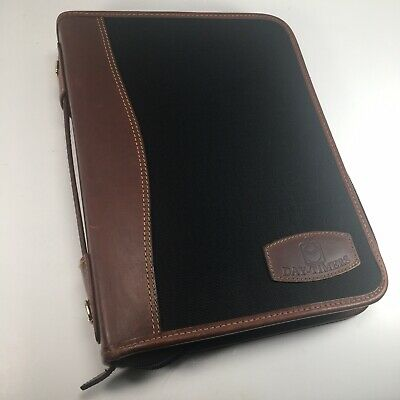 Day-timer Desk Planner Zipper Organizer Fits Franklin Covey Classic Size Usa