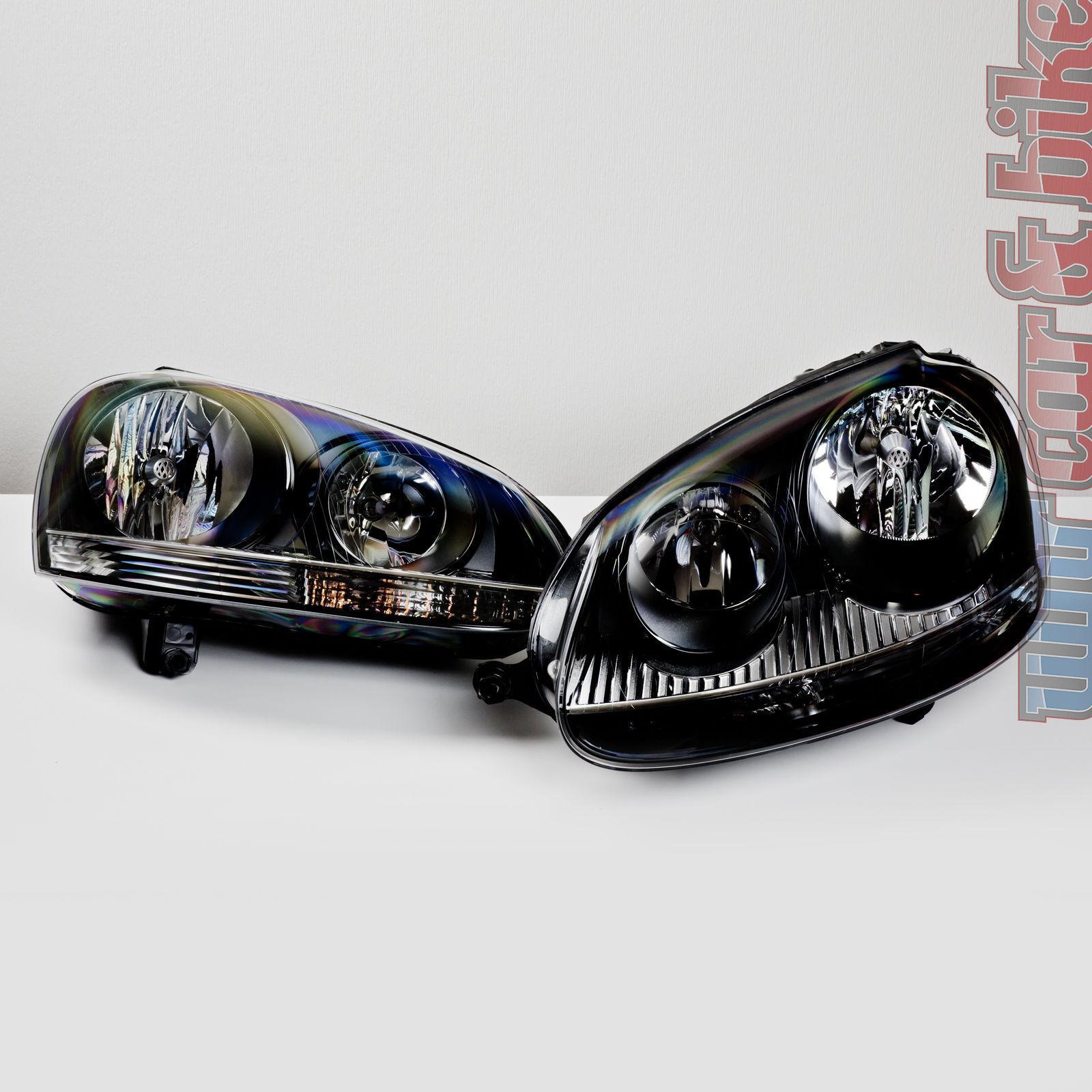 scheinwerfer h4 f r vw golf 1 auch cabrio 1 satz. Black Bedroom Furniture Sets. Home Design Ideas