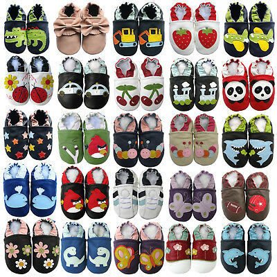 carozoo baby toddler soft sole leather slippers best seller shoes up to 8