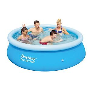 Pool (Bestway Fast Set) above ground Greensborough Banyule Area Preview