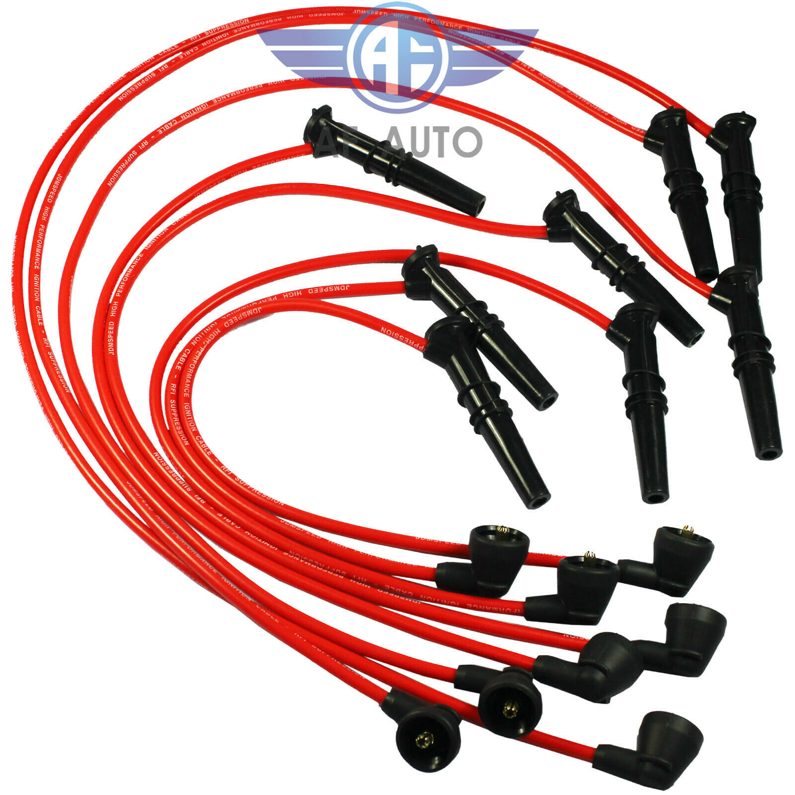 8×Spark Plug Wire  2500-79542 For Ford Lincoln Mercury F-150 F250 V8 4.6L