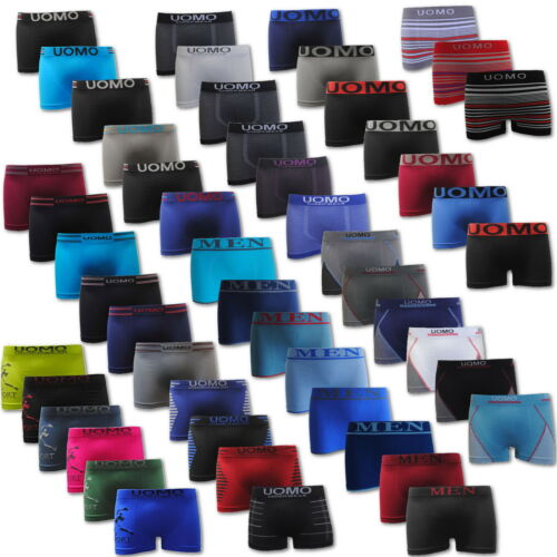 20 Paket Boxershorts Retroshort Herren Unterwäsche Unterhose Microfaser Seamless