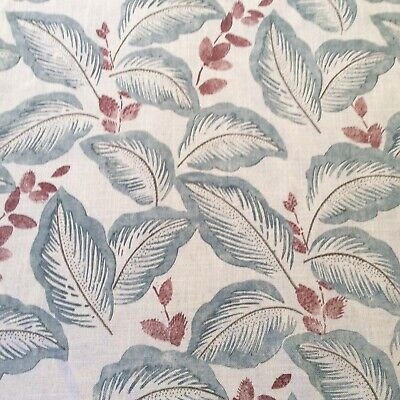 Used, Sanderson curtain fabric 'Box Hill' - slate/stone - 3 metres for sale  United Kingdom