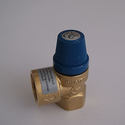 """Membran Sicherheitsventil Überdruckventil Wasser 1/2"""" x 3/4"""" 10 bar gebraucht kaufen  Ammern"""