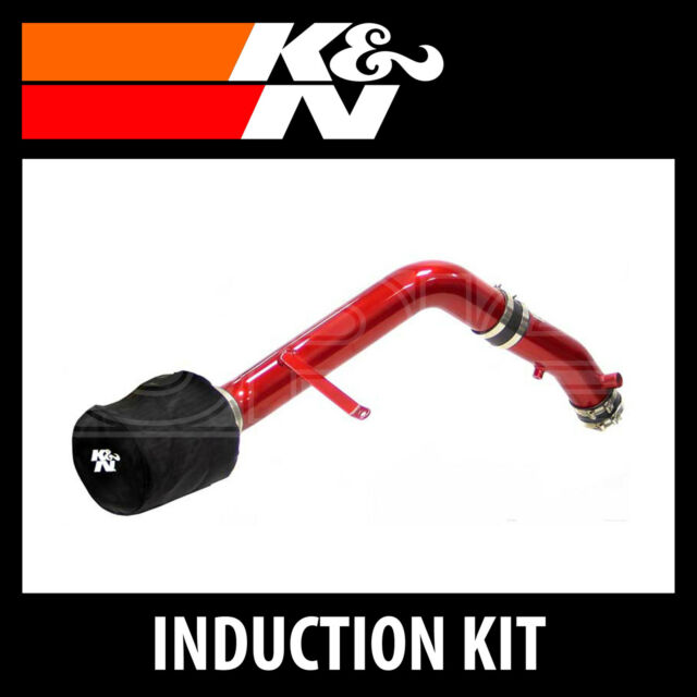 K&N Typhoon Performance Air Induction Kit - 69-1207TR-K and N High Flow Part