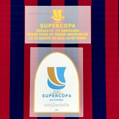 3f9f24a2004 Barcelona Supercopa 2018 Full set Player Issue Messi
