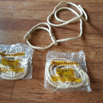 Adjustable All Rope Halter Cattle Or Calf No.1010
