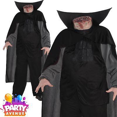 Mens Halloween Headless Horseman Sleepy Hollow Costume Adult Fancy Dress - Headless Horseman Sleepy Hollow Kostüm