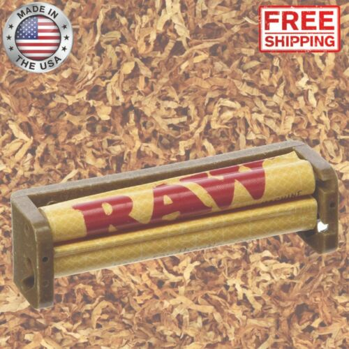 RAW Cigarette Rolling Machine Hemp Tobacco Joint Cigar Roller Plastic 79mm Maker