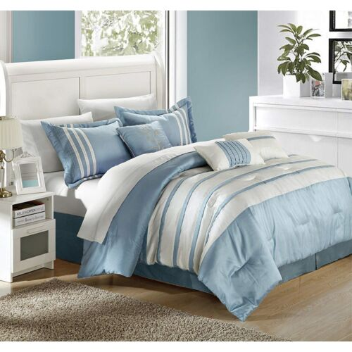 Chic Home Torino Pleated Piecing Luxury Bedding Collection 7