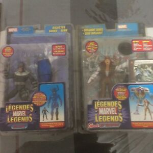 Figurine emballe Ghostbuster , Marvel , Dick Tracy, Star Wars