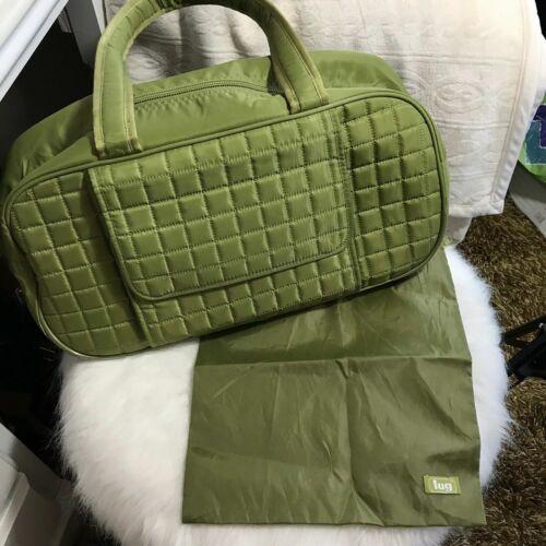 LUG Propeller Travel Overnight Gym Bag Carry-on Shoulder Luggage Green - $35.99