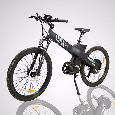 """26"""" 1000W 48V Black Electric Bicycle City Sport Outdoor EBike LCD Display"""