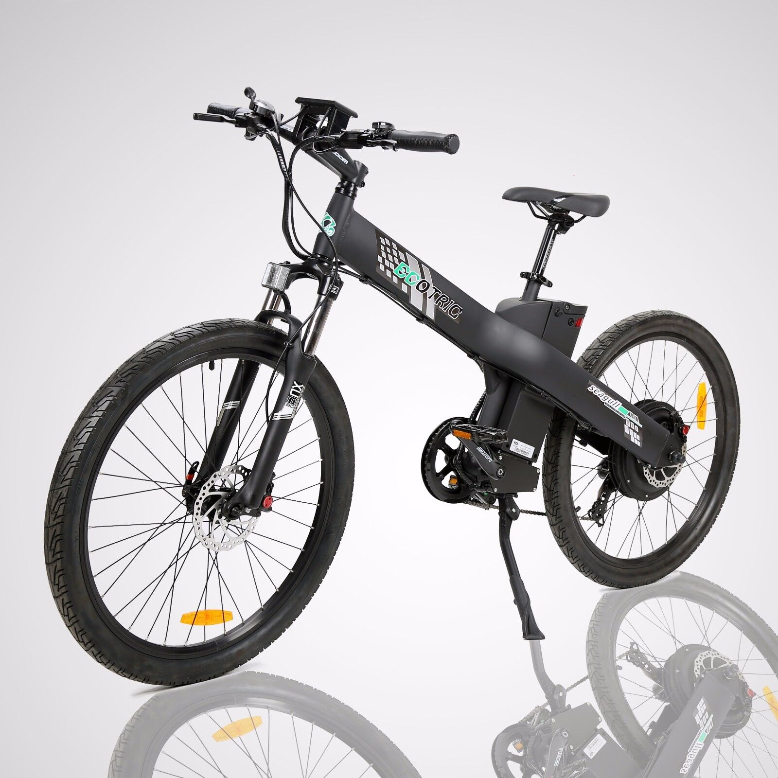 "26"" 1000W 48V Black Electric Bicycle City Sport Outdoor EBik"