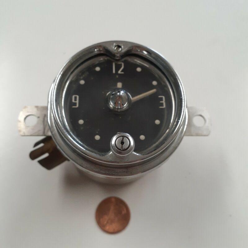 Vintage 1950s Chevy dash clock Chevrolet GEO BORG CORP CHICAGO USA