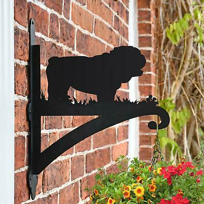 New Bulldog Iron Hanging Basket Bracket - 44cm x 33cm
