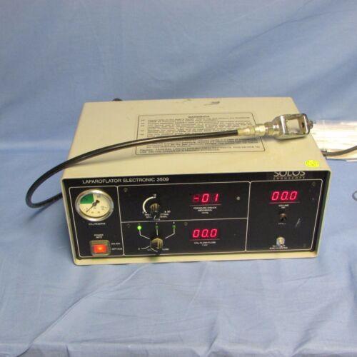 Solos Endoscopy Laparoflator / Insufflator Electronic 3509