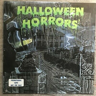 The Sounds Of Halloween 1977 (Halloween Horrors-The Sounds Of Halloween-'77 A&M Promo Shrink- VG++/M-)