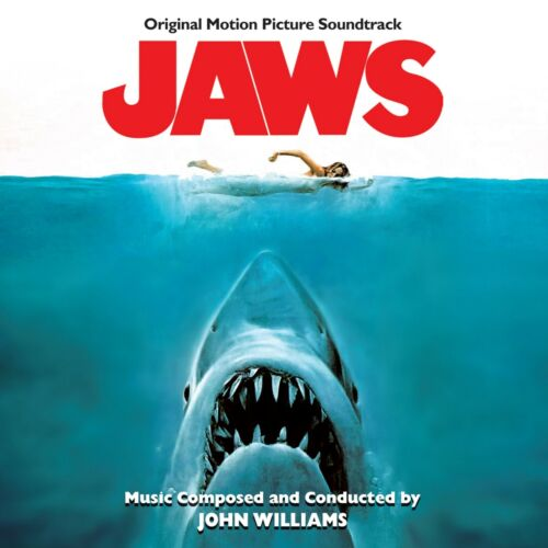 JAWS Soundtrack BANNER HUGE 4X4 Ft Fabric Poster Tapestry Flag movie art
