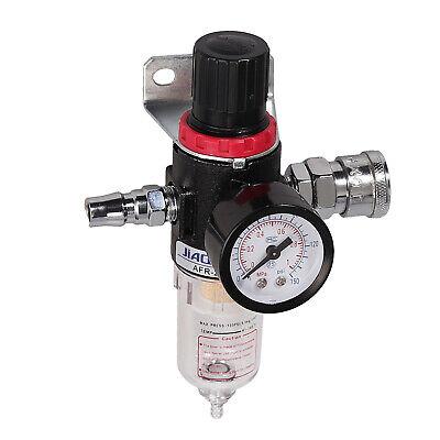 14 Air Compressor Filter Water Trap Pressure Gauge Regulator Mount Fitting Us