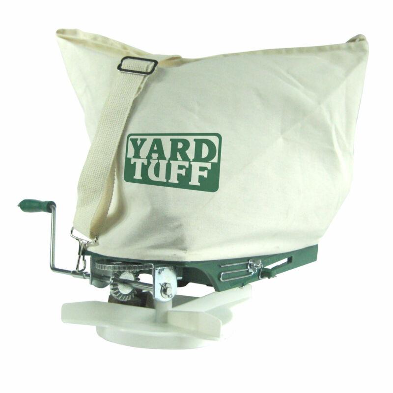 Yard Tuff YTF-25SS 25 Pound Shoulder Spreader with Canvas Bag and Shoulder Strap