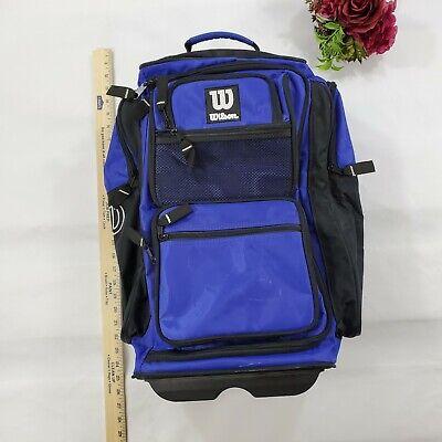 Wilson Ultimate Wheeled Baseball Sport Gear Equipment Duffle Bag