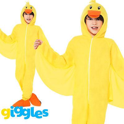Boys/Girls Duck Costume Animal Bird Easter Nativity Fancy Dress - Nativity Costume