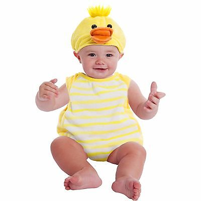 NEW NWT Boys or Girls Baby Duck Plush Bubble Costume 9-18 Months Halloween
