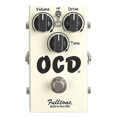 Fulltone OCD Obsessive Compulsive Drive Pedal V2