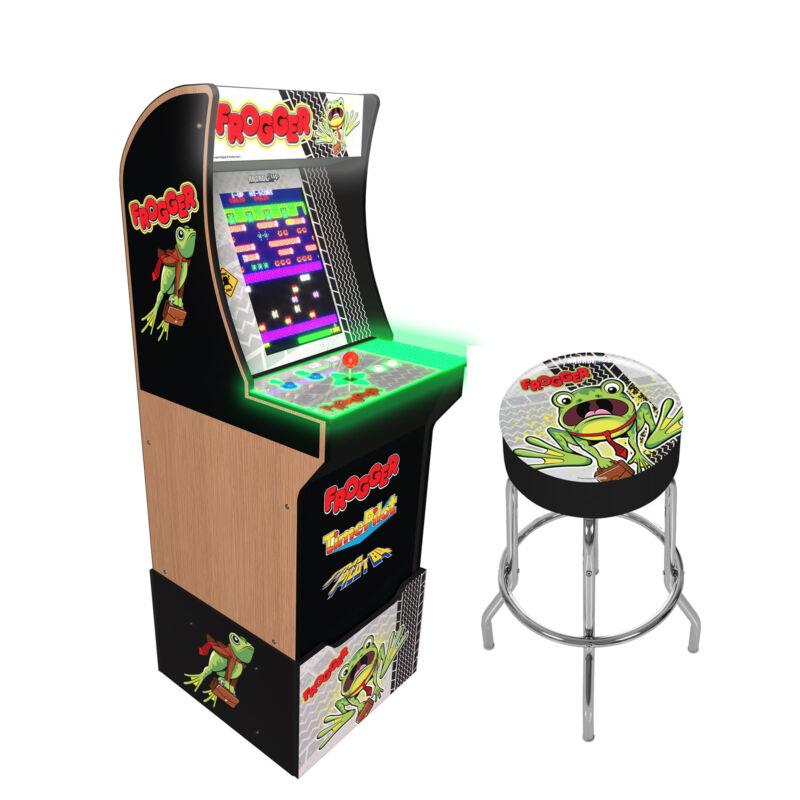 Arcade1Up Frogger Special Edition Arcade Machine [Brand New]