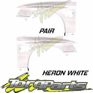 PAIR HERON WHITE GUARD SUIT VZ SS HOLDEN COMMODORE & HSV FENDER Q Bayswater Knox Area Preview