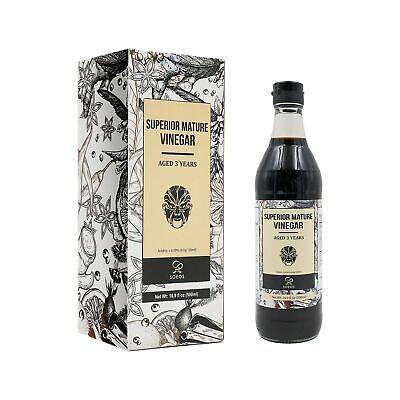 Soeos Chinkiang Vinegar, Mature Aged Black Vinegar, Chinese Black Vinegar, Zh...