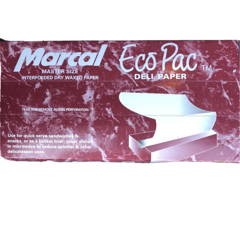 """(500 SHEETS) DELI PAPER 12"""" x 10.75"""" DRY WAX USA MADE  MARCAL Free Ship Prioirt"""