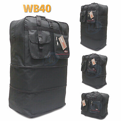 "40"" Inches Expandable Spinner Suitcase Luggage Wheeled Duffel Bag USA SELLER"