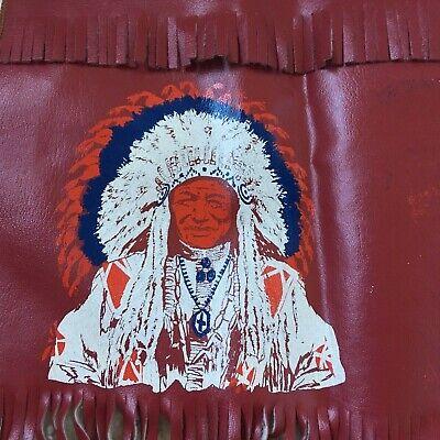 Kids Cowboy Halloween Costume (Halloween Dress Up Costume Cowboy Indian Kids Vintage Vest Fringe Faux Leather)